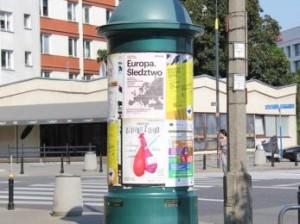 Darmowa promocja na słupach ogłoszeniowych w Warszawie