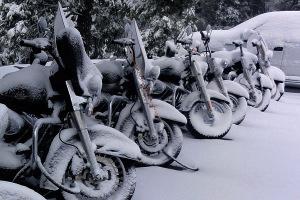 zimowanie motocykla