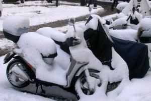 Zimowanie motocykli